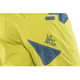 La Sportiva M's Bleauser Shorts Citronelle/Ocean